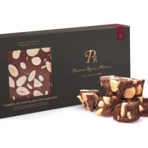 Turrón chocolate almendra Primitivo Rovira