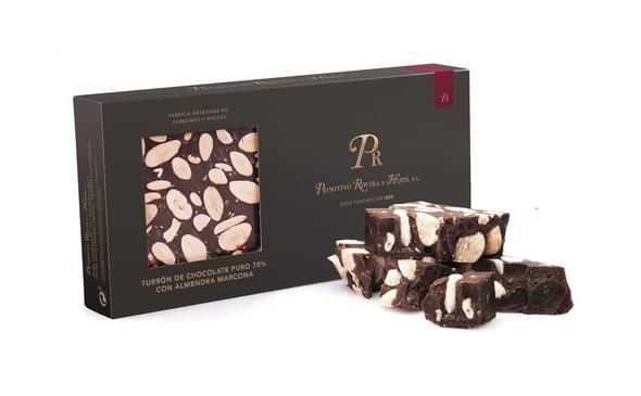 Turron chocolate Puro